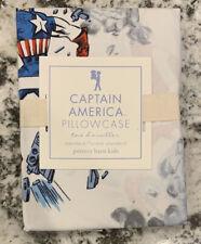 NEW Pottery Barn Kids Captain America STANDARD Pillowcase