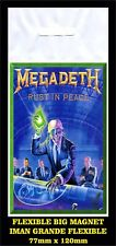 MEGADETH RUST IN PEACE FLEXIBLE BIG MAGNET IMAN GRANDE 0112