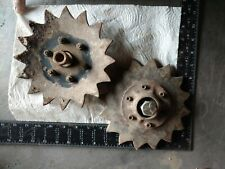 Steampunk Vintage  Industrial Machine Metal Art Antique Aged Farm Parts
