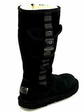 Ugg Retro Cargo Black Pocket Boots  S/N 1895 Size 6 USA