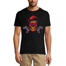 ULTRABASIC Homme T-shirt Gamer Skull Joystick - Tête de mort Manette de Jeu