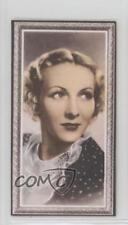 1936 Godfrey Phillips Stars of the Screen Tobacco Base #41 Karen Morley Card 0iu