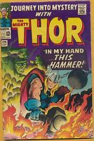 Journey into Mystery #120 Marvel Comics 1965, Thor, Classic Kirby Art