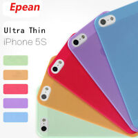 0.3mm Ultra Thin Slim New Matte Soft Hard Back Case Cover Skin For iPhone 5 5s