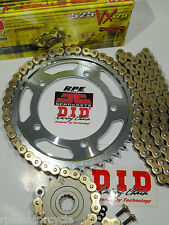 ER650 ER6N ER-6N '06-14 DID Gold X-Ring CHAIN AND SPROCKETS KIT *OEM, QA or Fwy