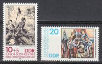 Germany DDR 1983 Sc 2359-2360 Mi 2812-2813 MNH  Sozphilex'83 .Art paintings **