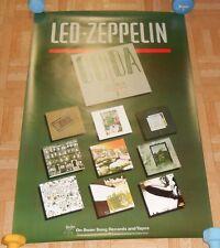 Led Zeppelin Coda Promo Original 80s Poster 20x32