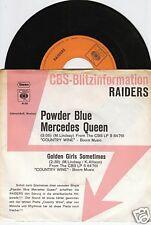 THE RAIDERS Powder Blue Mercedes Queen 45/GER/PROMO