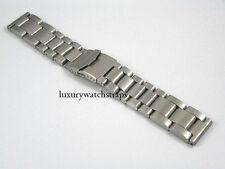 ULTIMATE HEAVY STEEL BRACELET STRAP FOR BREITLING BENTLEY NAVITIMER 24MM WATCH