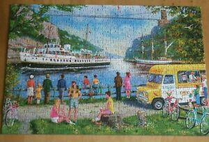 JIGSAW by GIBSONS LTD  ** CLIFTON BRIDGE,BRISTOL **  500 PIECES - BOXED - USED