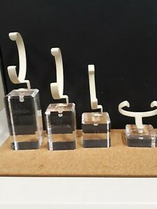 4 X Vintage Omega Watch Stands