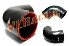 """2.75"""" to 2.75"""" 90 Degree Elbow Silicone Pipe Coupler Hose intercooler Turbo hose"""