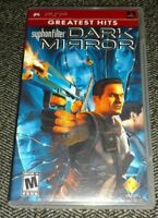 DARK MIRROR - PSP - COMPLETE WITH MANUAL - FREE S/H - (O)