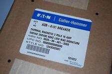 Cutler Hammer AQB-A101 interruptor de circuito bipolar de 3 15A 500V bajo firma magnético