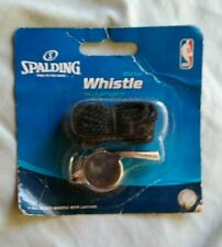 Spalding Metal whistle with Lanyard Nba