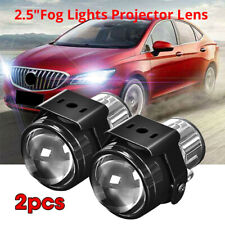 "2.5"" HID Bi-Xenon Fog Light Projector Lens Kit Hi/Lo Universal H11 Xenon Lamp"