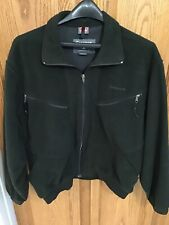 Men's Simm's Fishing Fleece Jacket Coat Green GoreWindstopper size Large.