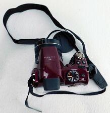 Fujifilm FinePix S Series S4400 14.0MP Digital Camera- Maroon