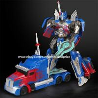 "New In Stock Movie 5 The Last Knight Large Optimus Prime 8"" Action Figure Truck"