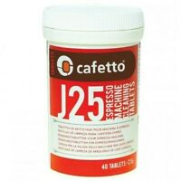 NEW CAFETTO J25 ESPRESSO MACHINE CLEANING TABLETS Coffee Clean Auto Manual