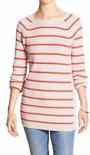 Banana Republic Women's Stripe Button-Side Marled Sweater Sz S NWT $59.99