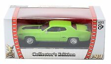 Road Signature-Plymouth GTX (1971) 1:43 Verde