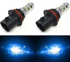 LED 50W 9004 HB1 Blue 10000K Two Bulbs Head Light Replace DRL Lamp Off Road