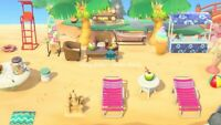 Ultimate Outdoor Beach Set (27items) Furniture -Animal Crossing New Horizons