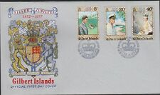 GILBERT ISLANDS. Queen Eliz Silver Jubilee 1952-1977