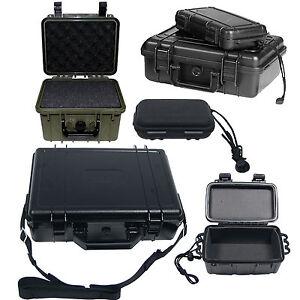 Transportbox wasserdicht v. Größen Outdoor Kunststoff Box Army Camping Kiste