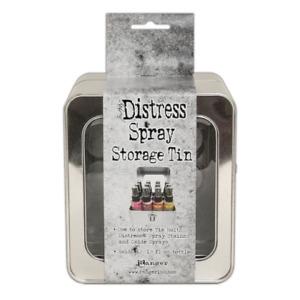 Tim Holtz Distress Spray Storage Tin - Holds 12 TDA68068