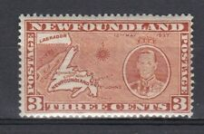 Newfoundland 1937 Coronation 3c Perf 13 MM
