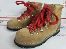 Vintage Kinney Shoes Colorado Hiking Boots Brown Italy Men's Size 6.5 Vibram