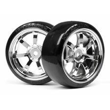 HPI 4739 T-Drift/Rays 57s Wheel 26mm chrome (2)