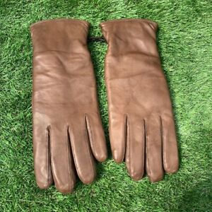 British Army Surplus Issue Officers Brown Leather, Lined ECW S2000 Combat Gloves