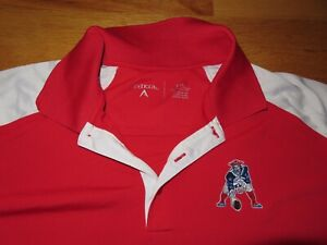"""Antigua NEW ENGLAND PATRIOTS """"Pat the Patriot"""" Embroidered (2XL) Polo Shirt"""