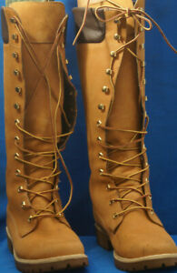 Lady`s Flat Knee High Timberland Boots