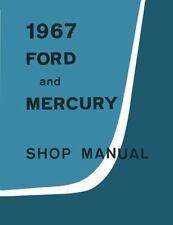 Bishko OEM Repair Maintenance Shop Manual Bound for Ford Galaxie, Ltd 1967(Fits: Ford)