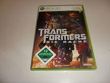 XBOX 360 Transformers: la vendetta