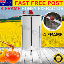 10% off 4 Frame Stainless Steel Honey Extractor Manual Honey Beekeeping Spinner