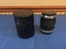Canon FD 100mm f/2.8 Lens From Japan With Case & Caps !!