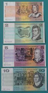AUSTRALIAN 1967 & 1968 COOMBS – RANDALL COA PAPER BANKNOTES VF - VF+