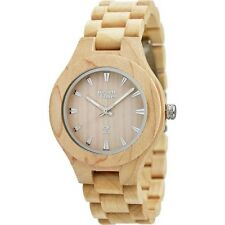 "OROLOGIO UNISEX GREEN TIME BY ZZERO ""WOOD"" LEGNO ACERO ZW005B - (LIST. € 99,80)"