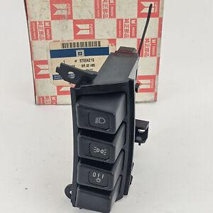 Vauxhall Frontera Isuzu Lights Headlamp Switch Button Dash Genuine Opel 97004219