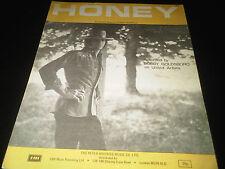 Honey Bobby Goldsboro on United Artists Sheet Music Score Lyrics