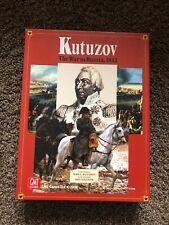 Kutuzov The War In Russia 1812 GMT GAMES Card Driven Board Game 2008 McLaughlin