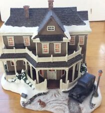 """Terry Redlin, """"House On The Hill"""" in Original Box , Brand New Sculpture,3074"""