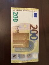 200 euro 2019 Series Banknote. 200 Euros Circulated Banknotes. Single Bill. Dt