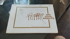 BOOK FEIFFER ON CIVIL RIGHTS
