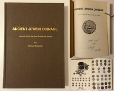 Ancient Jewish Coinage Vol.2 Herod the Great Through Bar Cochba, Meshorer SIGNED